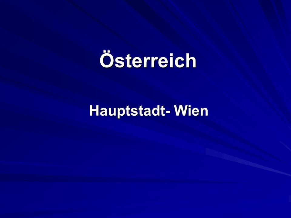 Österreich Hauptstadt- Wien