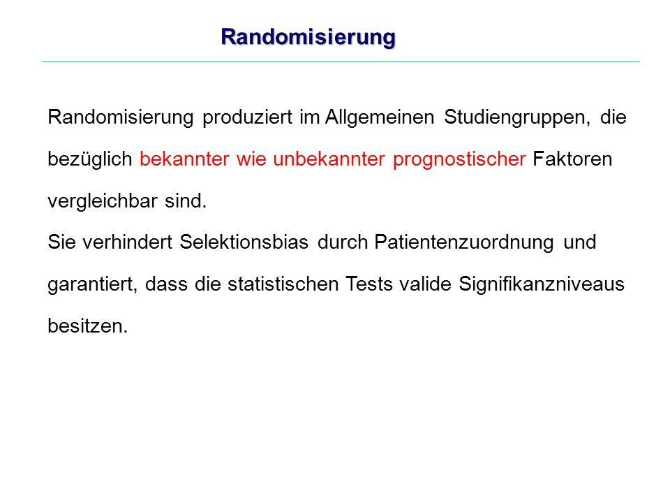 Randomisierung