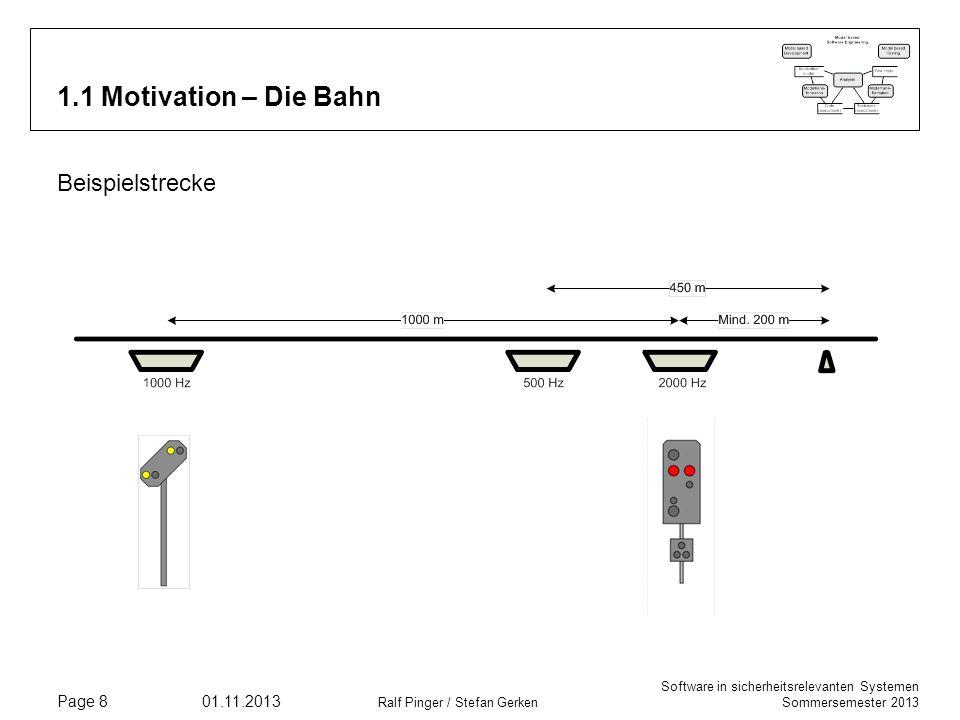 1.1 Motivation – Die Bahn Beispielstrecke