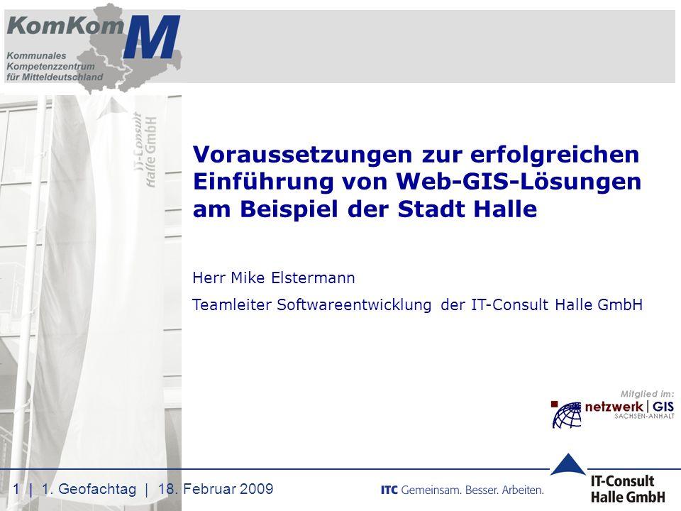 Voraussetzungen zur erfolgreichen Einführung von Web-GIS-Lösungen am Beispiel der Stadt Halle