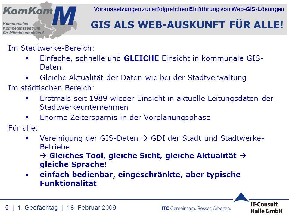 GIS ALS WEB-AUSKUNFT FÜR ALLE!