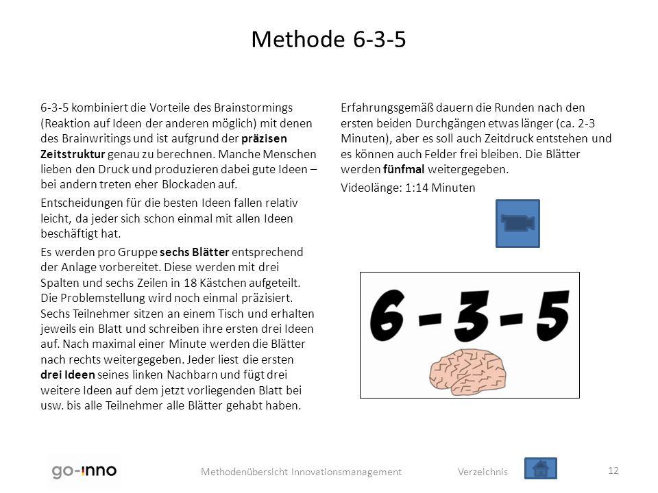 Methode 6-3-5