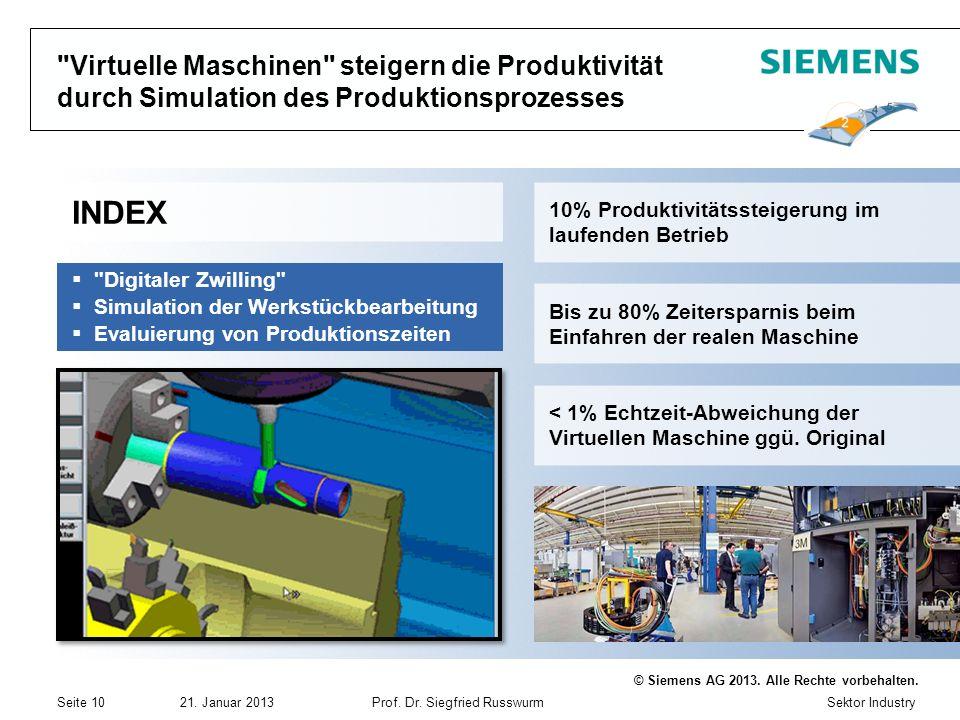 Virtuelle Maschinen steigern die Produktivität durch Simulation des Produktionsprozesses