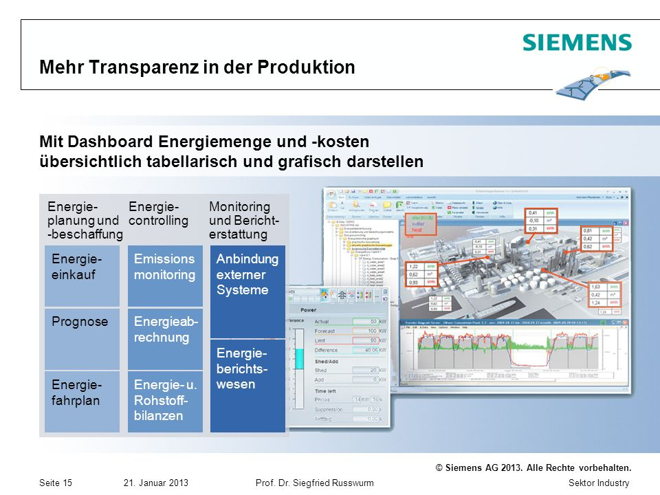 Mehr Transparenz in der Produktion