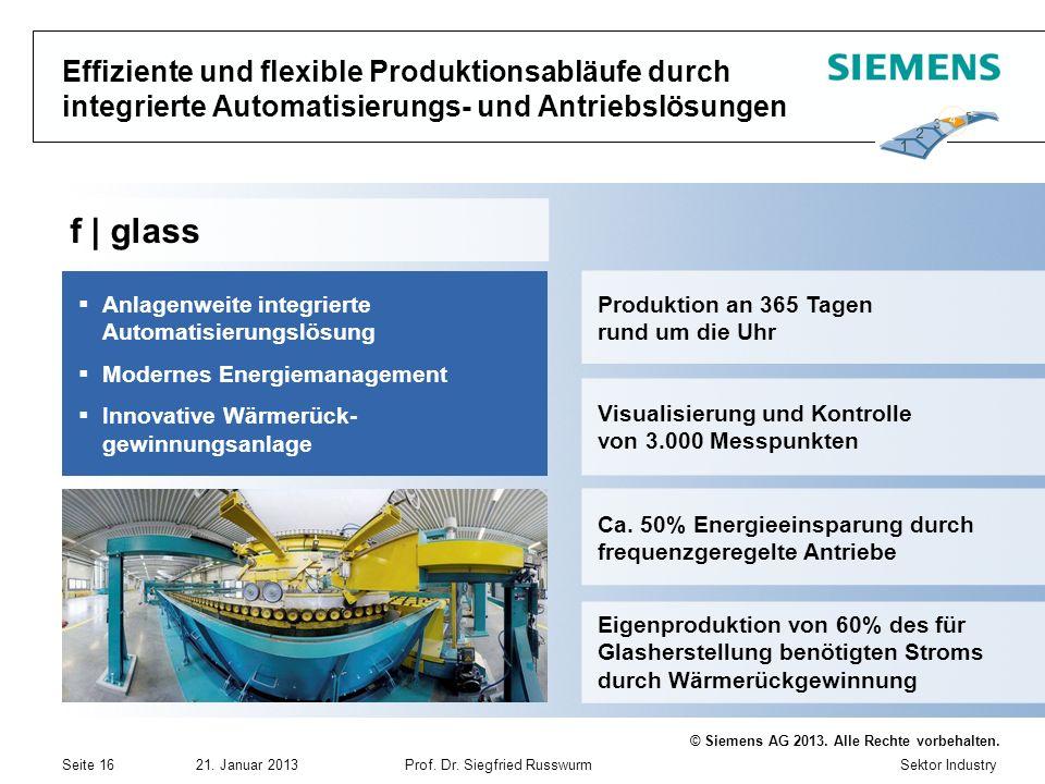 Effiziente und flexible Produktionsabläufe durch integrierte Automatisierungs- und Antriebslösungen