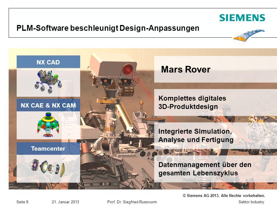 PLM-Software beschleunigt Design-Anpassungen