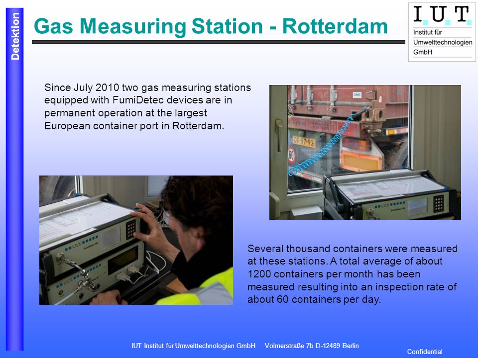 Gas Measuring Station - Rotterdam