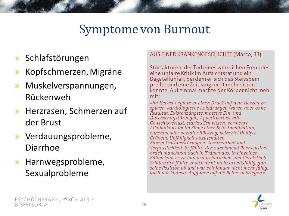 Symptome von Burnout Schlafstörungen Kopfschmerzen, Migräne