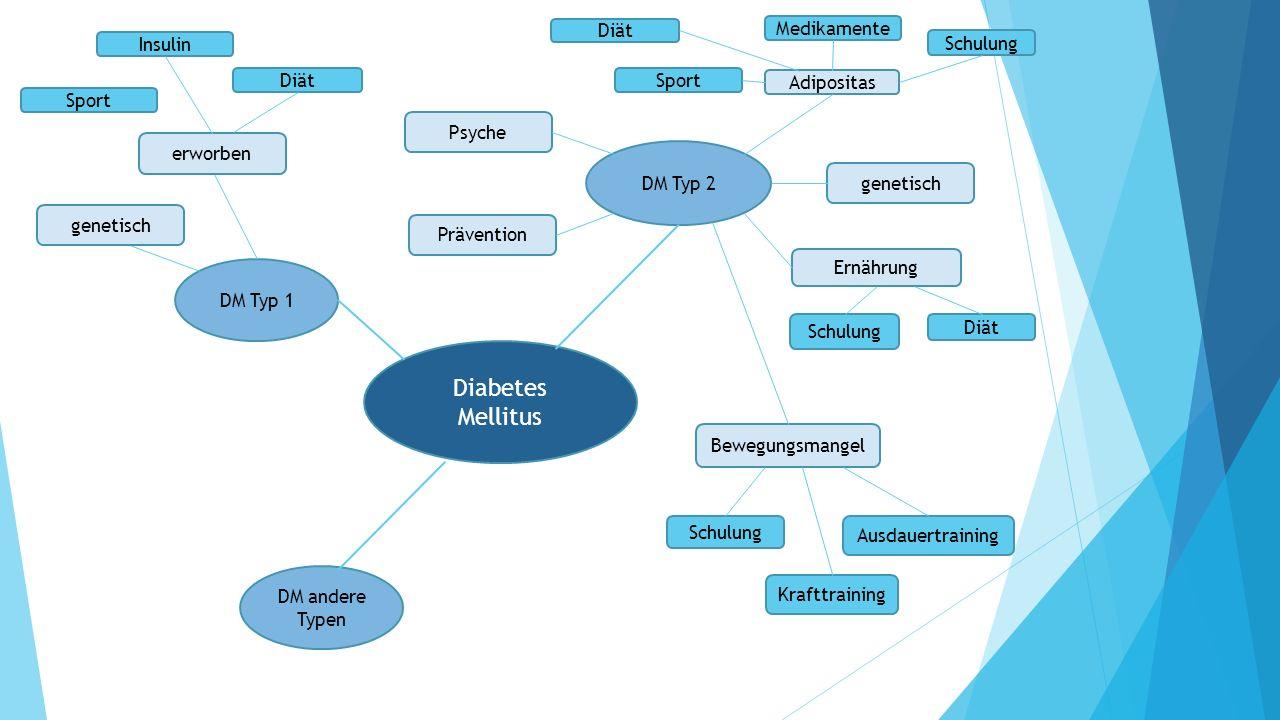 Diabetes Mellitus Diät Medikamente Insulin Schulung Diät Sport
