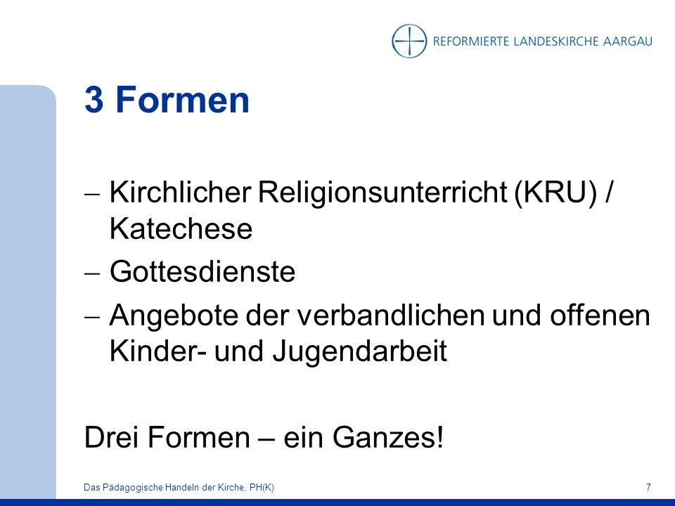 Wir unterscheiden KRU SRU teaching in religion (Kirchen)