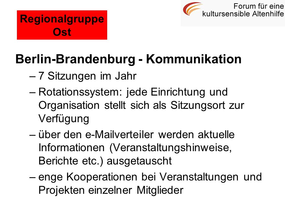 Berlin-Brandenburg - Kommunikation