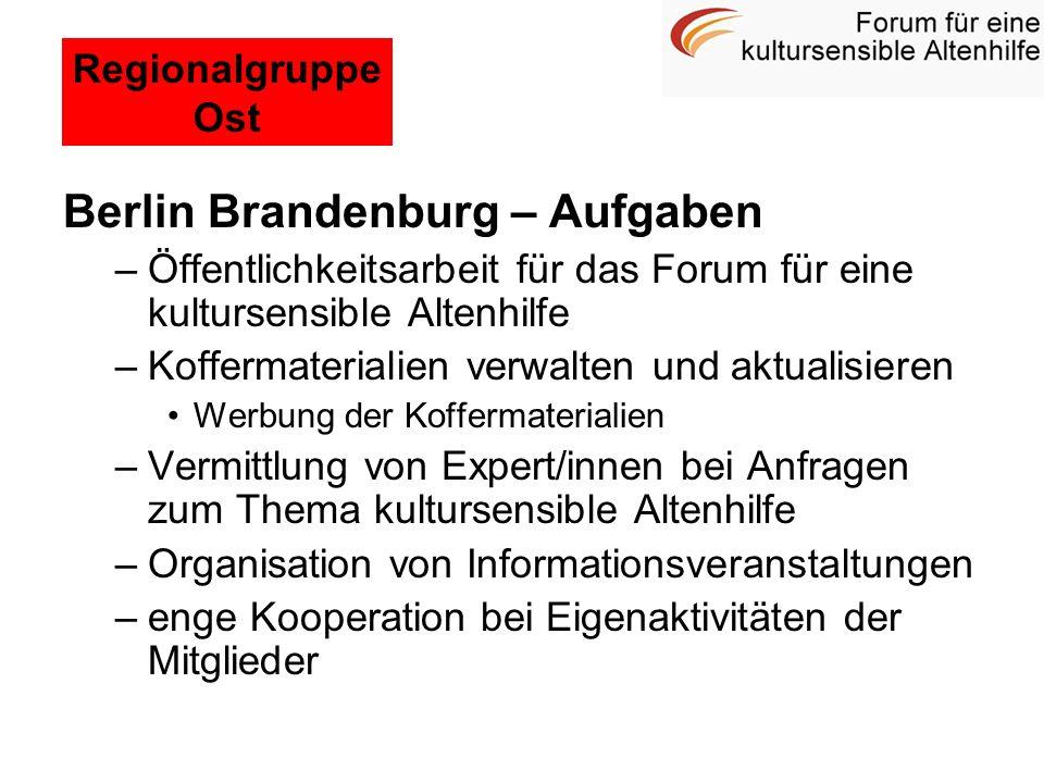 Berlin Brandenburg – Aufgaben