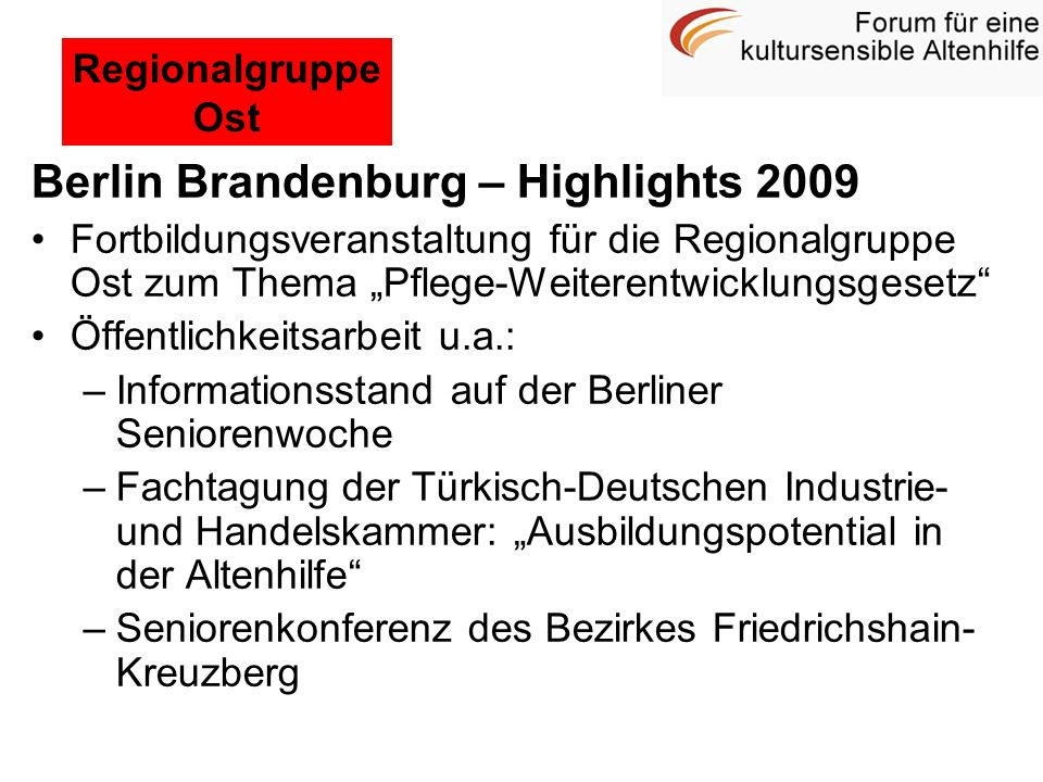 Berlin Brandenburg – Highlights 2009