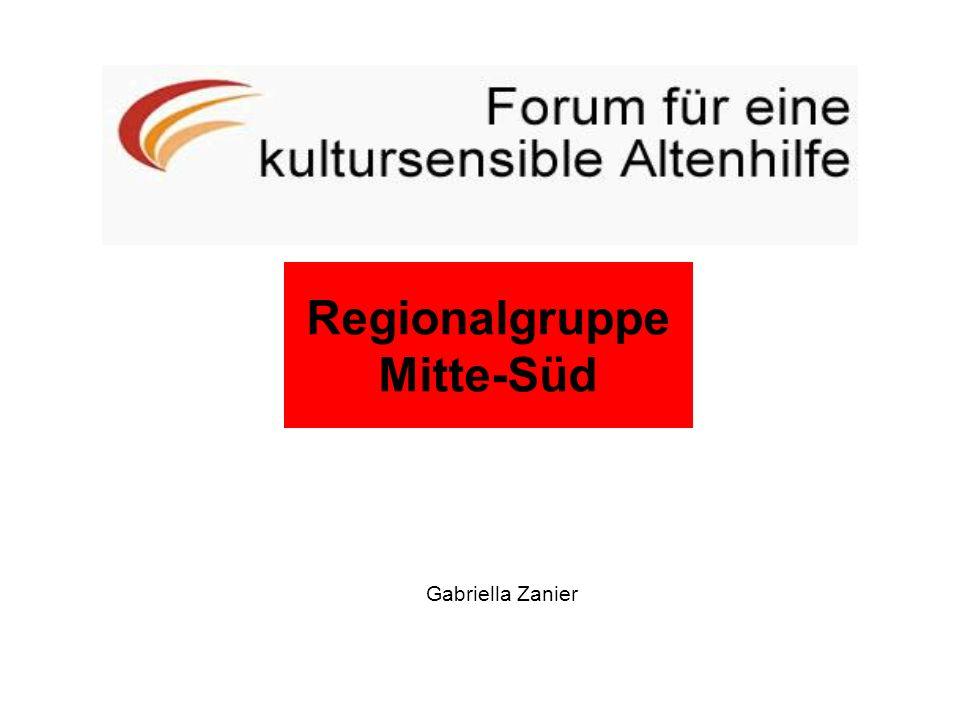 Regionalgruppe Mitte-Süd