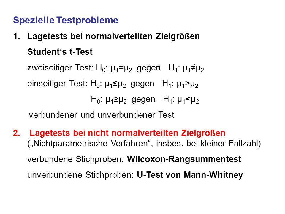 Spezielle Testprobleme