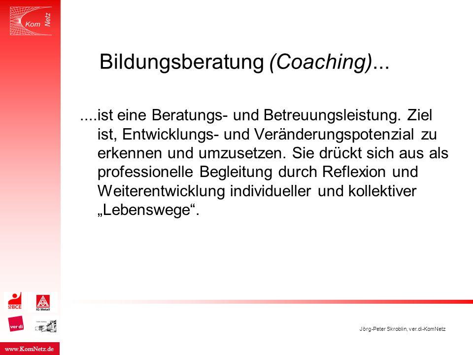 Bildungsberatung (Coaching)...