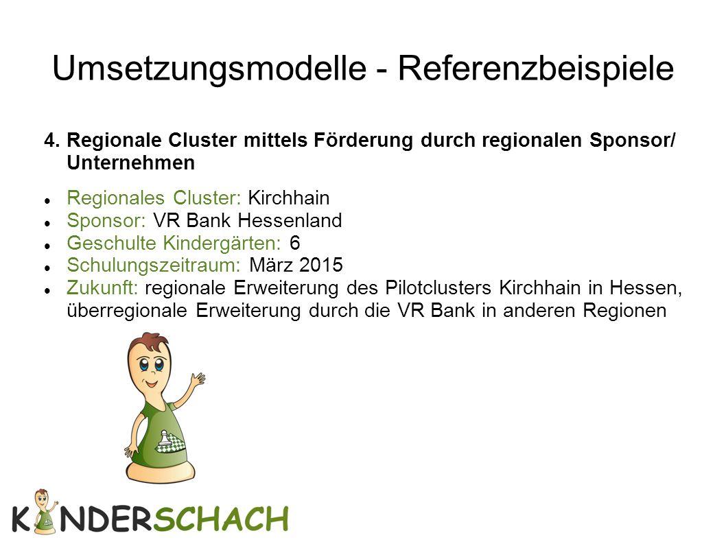 Umsetzungsmodelle - Referenzbeispiele
