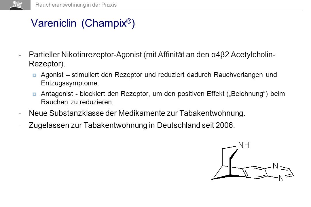 Vareniclin (Champix®)