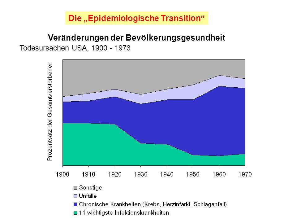 """Die """"Epidemiologische Transition"""