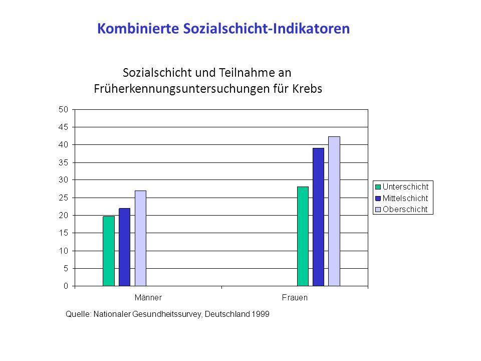 Kombinierte Sozialschicht-Indikatoren