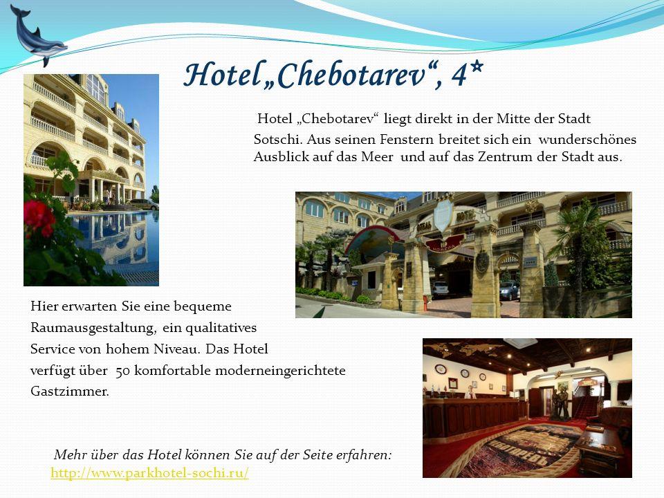 """Hotel """"Chebotarev , 4*"""