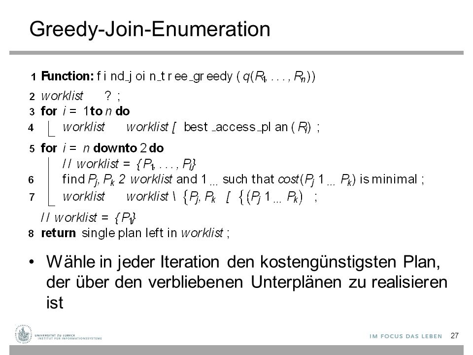 Greedy-Join-Enumeration
