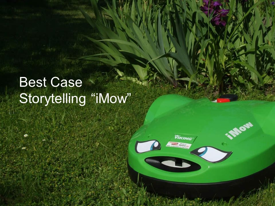 Best Case Storytelling iMow
