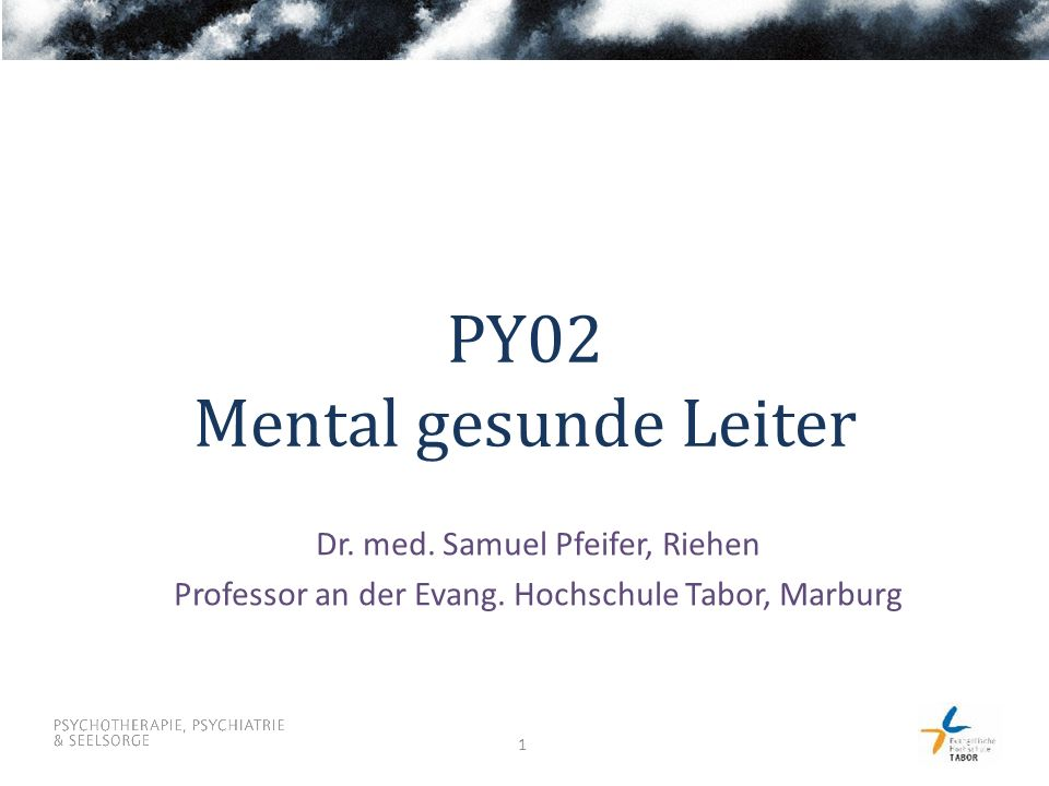 PY02 Mental gesunde Leiter