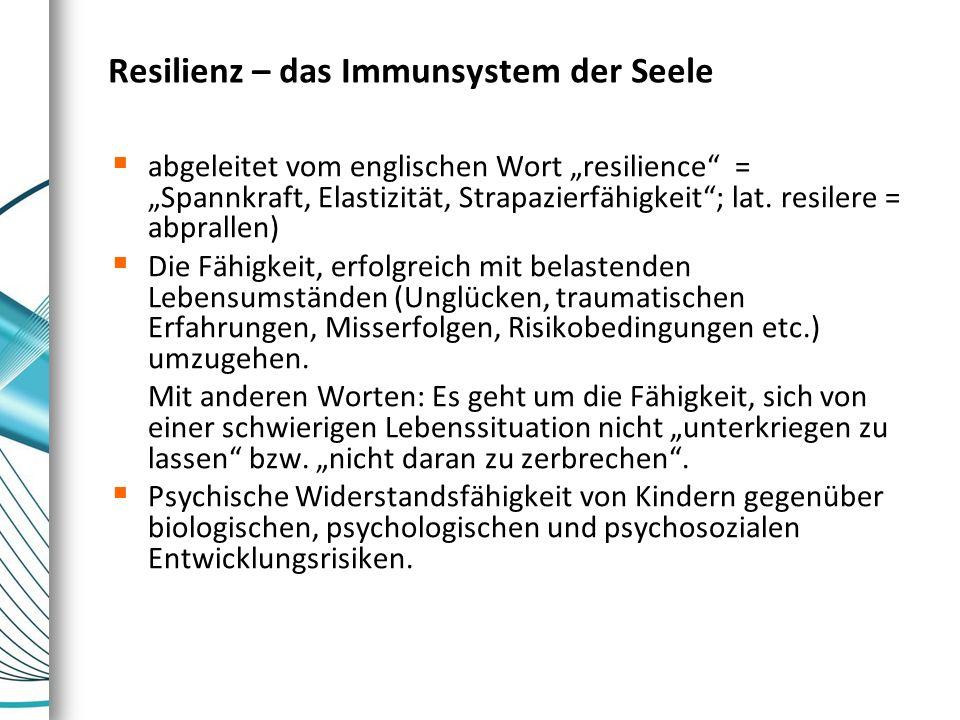 Resilienz – das Immunsystem der Seele