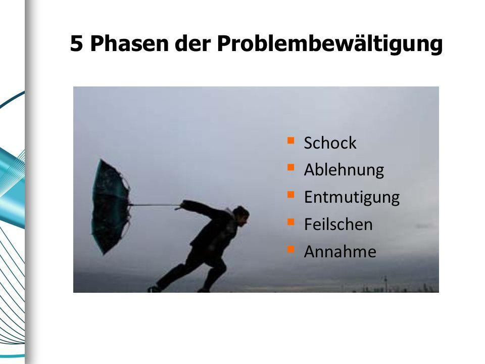 5 Phasen der Problembewältigung