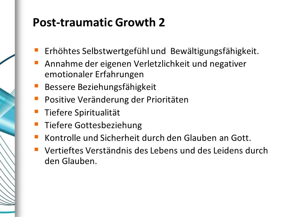 Post-traumatic Growth 2