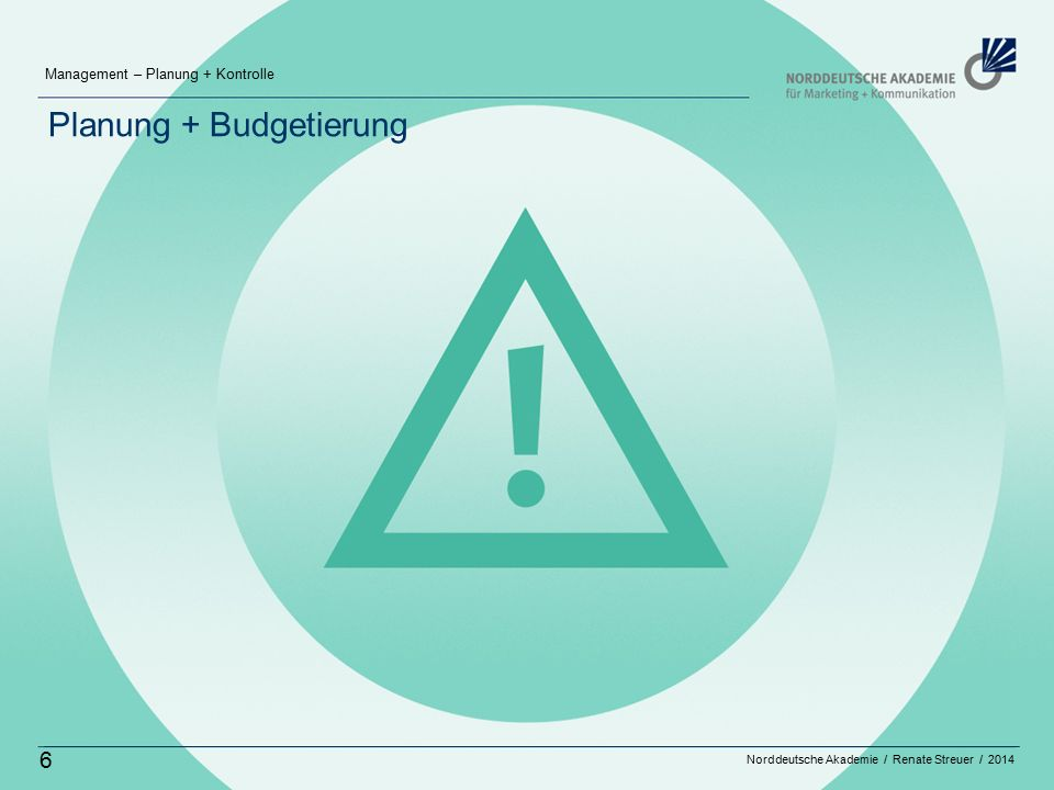 Planung + Budgetierung