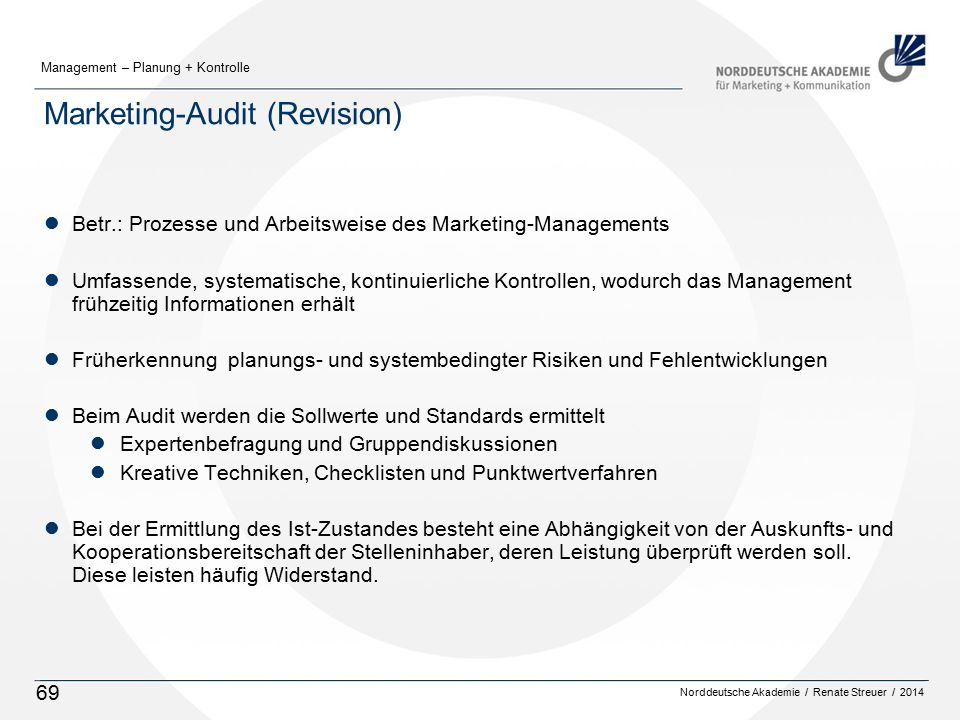 Marketing-Audit (Revision)