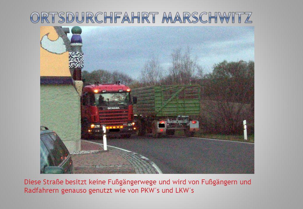 Ortsdurchfahrt Marschwitz