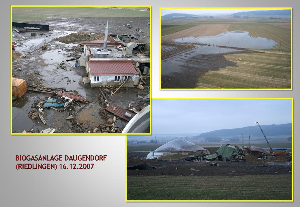 Biogasanlage Daugendorf (Riedlingen) 16.12.2007