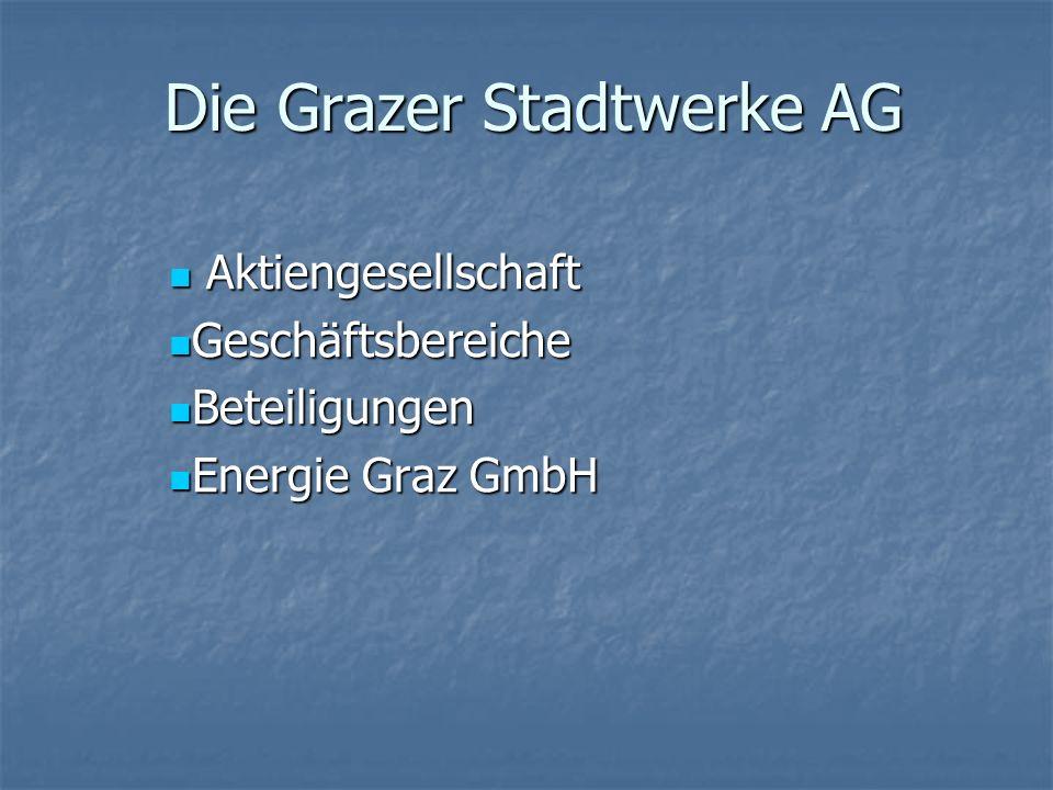 Die Grazer Stadtwerke AG