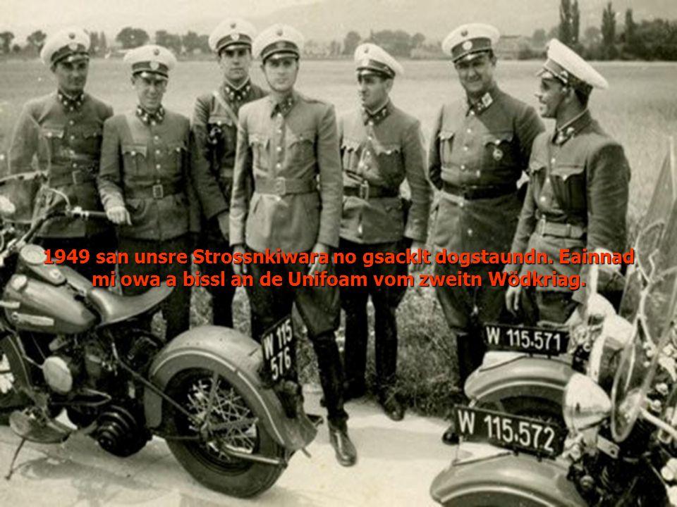 1949 san unsre Strossnkiwara no gsacklt dogstaundn