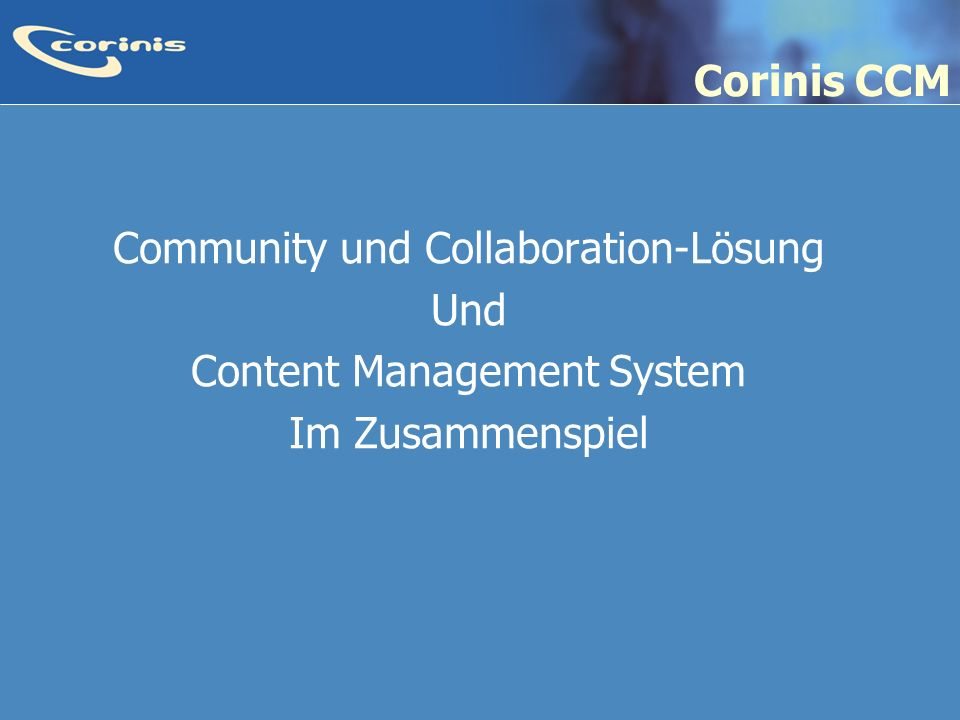 Community und Collaboration-Lösung Und Content Management System