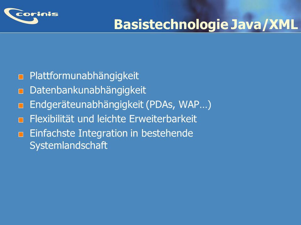 Basistechnologie Java/XML