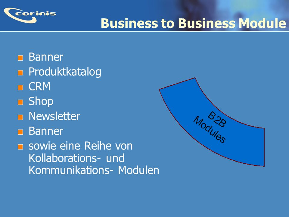 Business to Business Module