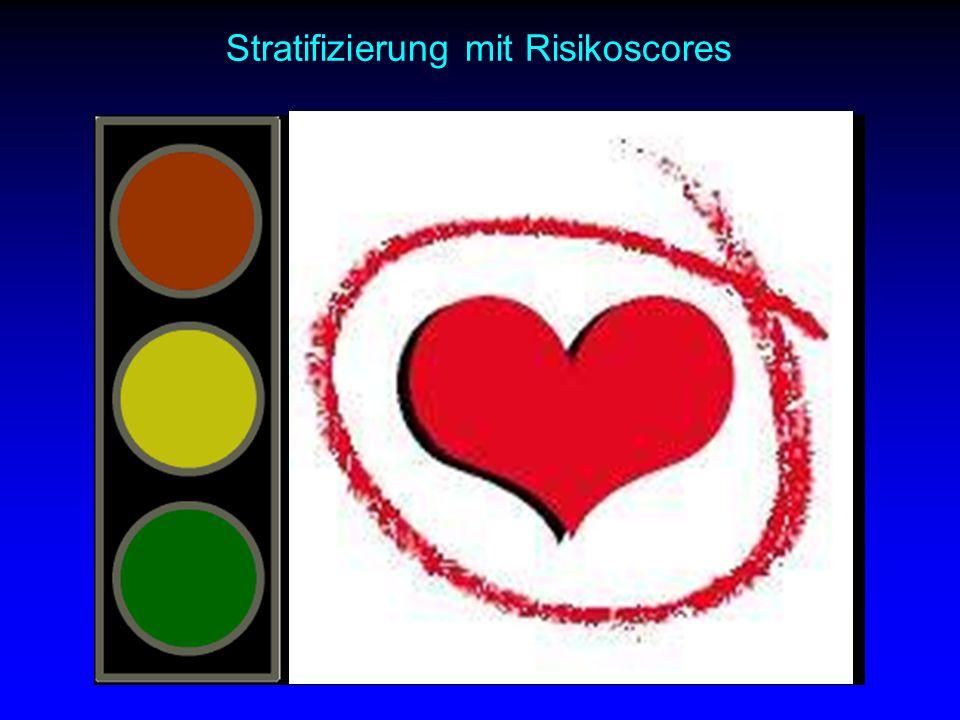 Stratifizierung mit Risikoscores