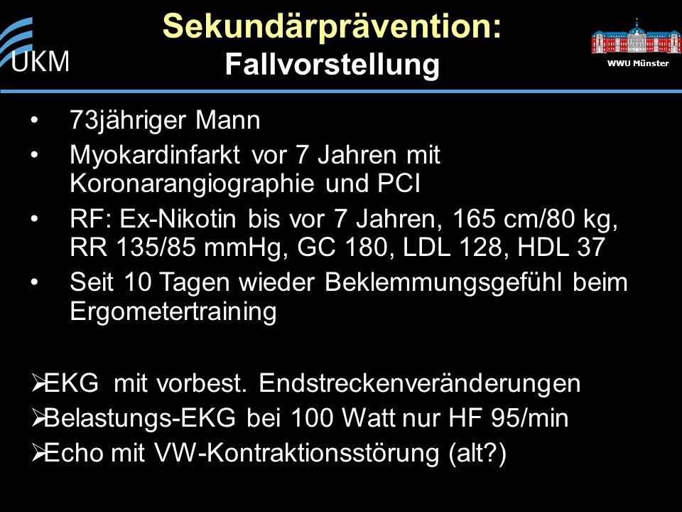 Sekundärprävention: Fallvorstellung