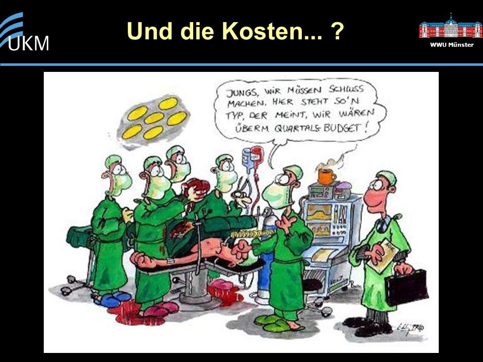 Und die Kosten... WWU Münster