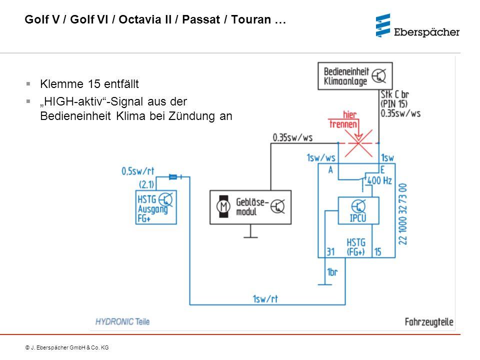 Golf V / Golf VI / Octavia II / Passat / Touran …