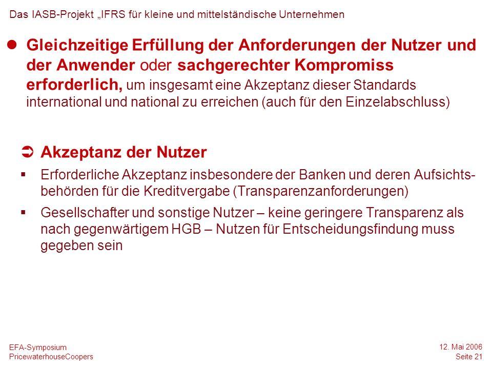 """DateDas IASB-Projekt """"IFRS für kleine und mittelständische Unternehmen."""