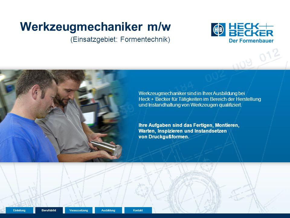 Werkzeugmechaniker m/w