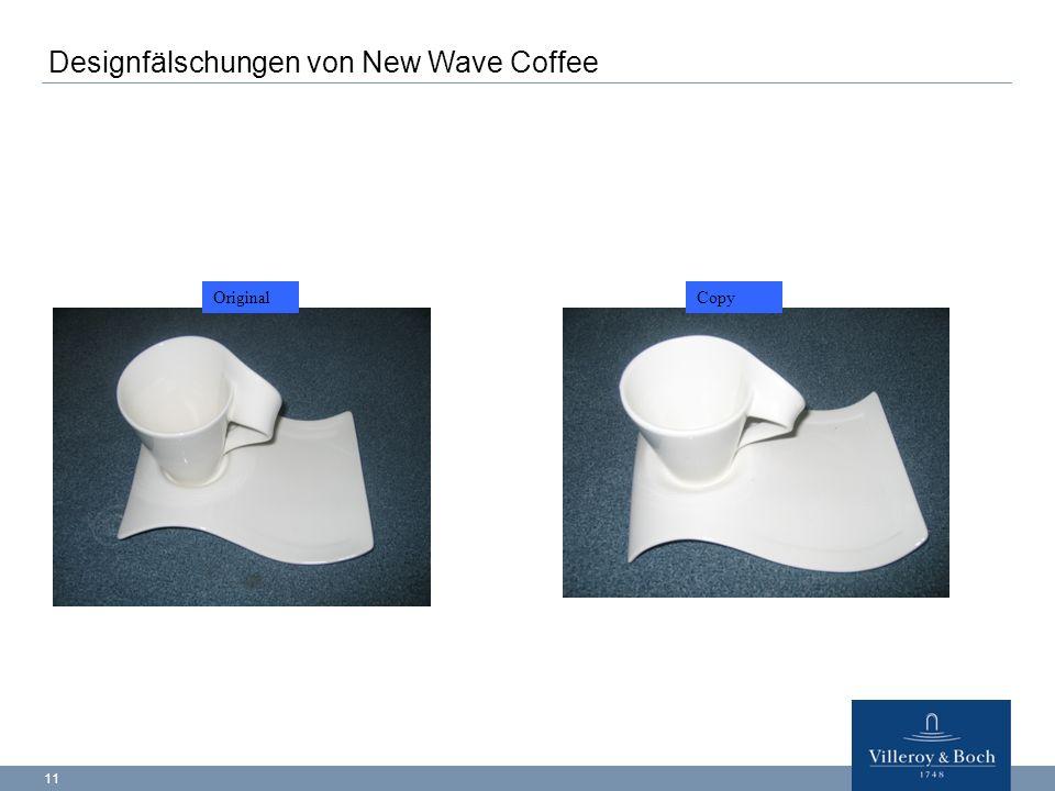 Designfälschungen von New Wave Coffee