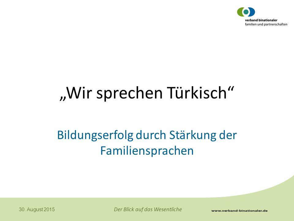 """""""Wir sprechen Türkisch"""