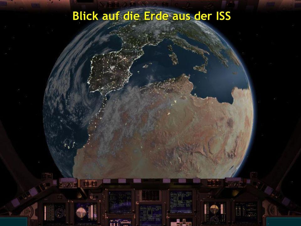 Blick auf die Erde aus der ISS