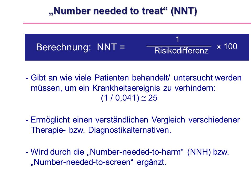 """Number needed to treat (NNT)"